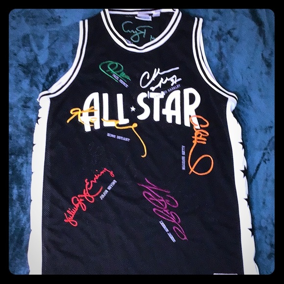 pretty nice 05337 83586 Hardwood classic all star jersey number 3 4xl